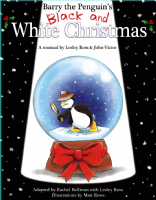 Barry the Penguin's Black and White Christmas: A Musical Book plus CD